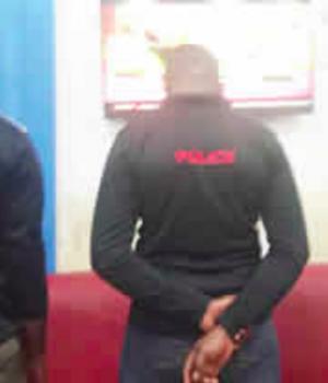 Policemen who assaulted Justice Obasi in Enugu