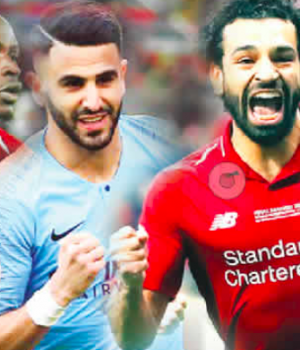 Mane, Mahrez and Salah
