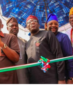 Govs Akeredolu, Kayode Fayemi, Sunday Dare and Ooni of Ife