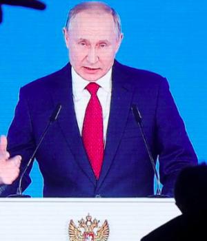Russian President Viladmir Putin