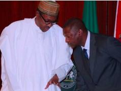 President Buhari and AGF Abubakar Malami