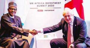 President Buhari and UK PM Borris Johnson