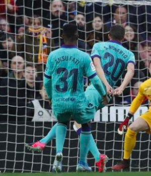 Maxi Gomez completed the scoring following a swift Valencia counter-attack