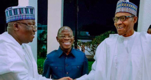 Sen. President Ahmad Lawan and President Buhari