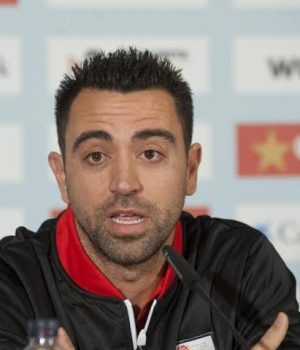 Xavi, eyes Barca top job