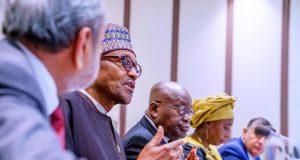 President Buhari, Ghanaian President Nana Akufo Addo