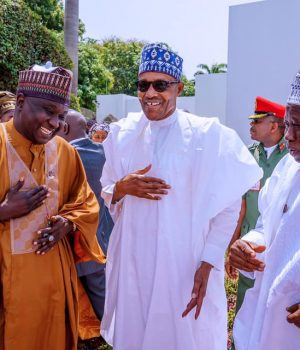 President Buhari and Kano Gov. Abdullahi Ganduje