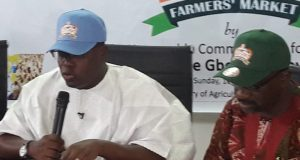 Lagos State Commissioner for Agriculture, Gbolahan Lawal