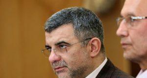 Iran's deputy health minister Iraj Harirchi
