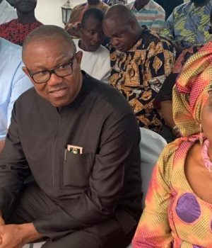Peter Obi, his wife and EXCO members