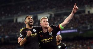 Man City subdued Real Madrid in a 1-2 encounter