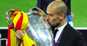 Pep Guardiola's last Champions League win was in 2011 when he was manager of Barcelona