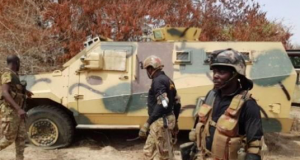 Members of the Operation Lafiya Dole