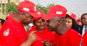 Magu and other EFCC officials at the walk