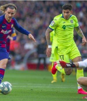 Antoine Griezmann's opener was his first La Liga goal since 21 December