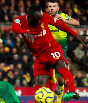 Sadio Mane breaks Norwich resistance
