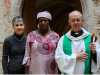 Rebecca Sharibu, mother of Leah Sharibu, on Thursday met with Justin Welby, archbishop of Canterbury,