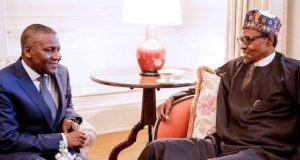 Dangote with Buhari