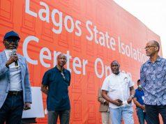 Gov. Sanwo-Olu, GTBank's Segun Agbaje and Prof. Abayomi