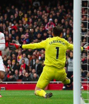 All seven of Alexandre Lacazette's Premier League goals this season have come in home games