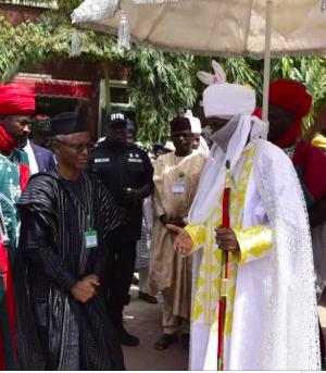 Gov. Nasir el-Rufai with former Kano Emir Sanusi