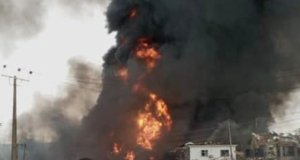 Lagos explosion