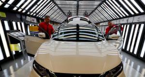 Nissan factory in UK