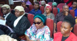 Winnifred Oyo-Ita, in court