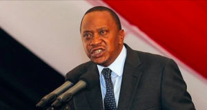 President Uhuru Kenyatta of Kenya