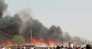Borno IDP fire