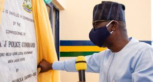 Gov. Sanwo-Olu commissions Area 3 Police HQ at Elemoro