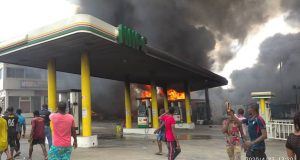 NNPC filling station gutted by fire
