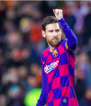 Lionel Messi's Barcelona were leading in La Liga when the league was halted