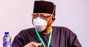 Osagie Ehanire, minister of health