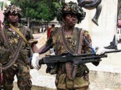 Soldiers arrested at 9 Brigade Ikeja Military Cantonment Lagos