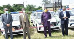 Dangote Cement donates 25 Hillux vehicles to Ogun State Security Task Force