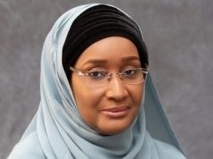 Sadiya Umar Farouq, Minister for Humanitarian Affairs,
