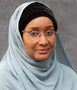 Sadiya Umar Farouq, Minister for Humanitarian Affairs,