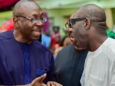 Pastor Ize-Iyamu and Gov. Godwin Obaseki