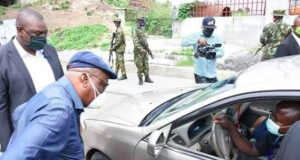 Gov. Nyesom Wike on a stop and search in PH