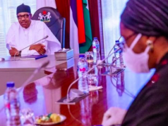 President Buhari and Zainab Ahmed