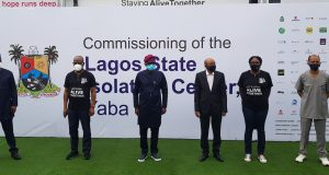 CACOVID donates 150-bed space isolation centre to Lagos