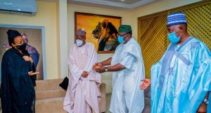 Governors at Ajimobi's burial