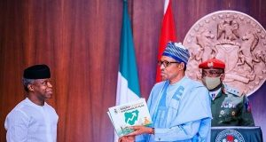 VP Yemi Osinbajo presents Covid-19 reports to President Buhari