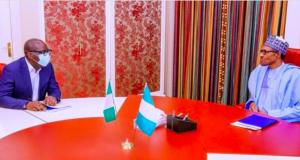 Gov. Godwin Obaseki and President Buhari
