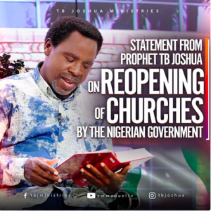 T.B Joshua's reopening statement