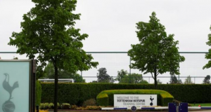 The tests on club staff were held at Tottenham's training ground