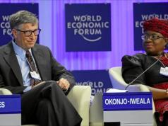 Bill Gates and Ngozi Okonjo-Iweala