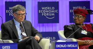 Bill Gates and Ngozi Okonjo-Iweala