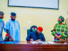 Gov. Fayemi signs the bill